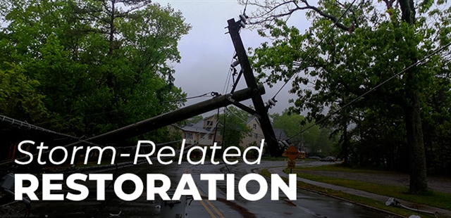 Storm-Related Utility Restoration
