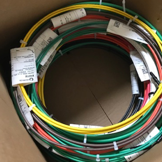 Coils of Service Wire Wire and Cable