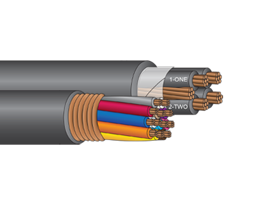Jacketed Tray Cable